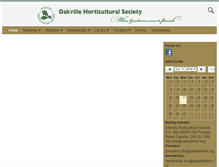 Tablet Preview of oakvillehort.org